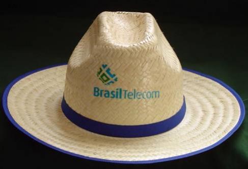 ecb86f2e54e9f Marca Impressa Brindes - Chapéu de Juta Modelo Americano