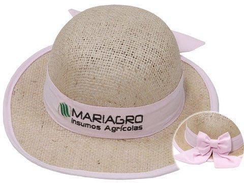 535543f295007 Marca Impressa Brindes - Chapéu de Juta Feminino