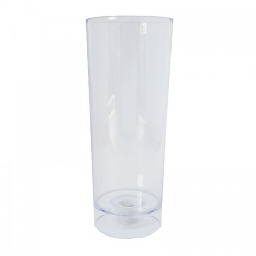 Copo Long Drink 320ml Transparente Com Led